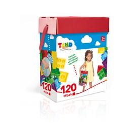 Blocos De Montar Tand Kids 120 Peças