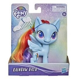 BONECA MY LITTLE PONY BÁSICA RAINBOW DASH - HASBRO F0164