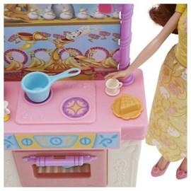 Boneca Princesas Disney Cozinha Temática Bela - Hasbro E8936