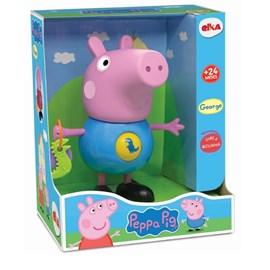BONECO GEORGE PEPPA PIG COM ATIVIDADES - ELKA 1098