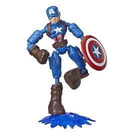 Boneco Marvel - Capitão América Bend And Flex - Hasbro E7377