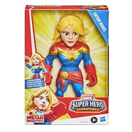 Boneco PLK Superhero Mega Mighthies Capitã Marvel - Hasbro E4132