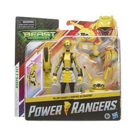 BONECO POWER RANGERS BEASTBOT YELLOW RANGER - HASBRO E7270