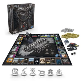 JOGO MONOPOLY GAME OF THRONES - HASBRO E3278