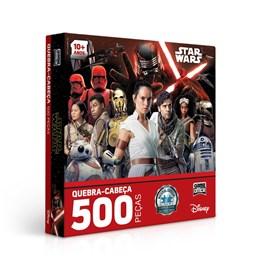 Quebra Cabeça 500 Pçs STAR WARS IX ASCENSÃO SKYWALKER - 2669
