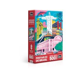 QUEBRA CABEÇA 500 PEÇAS NANO MONUMENTOS - TOYSTER 2687