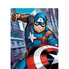 Quebra-Cabeça 60 Peças Os Vingadores - Capitão América